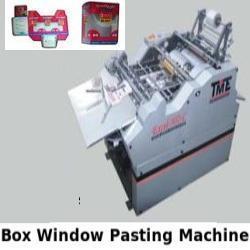 Box Window Pasting Machine