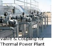 Valve And Coupling for Thermal Power Plant