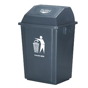 Plastic Covered Dustbin