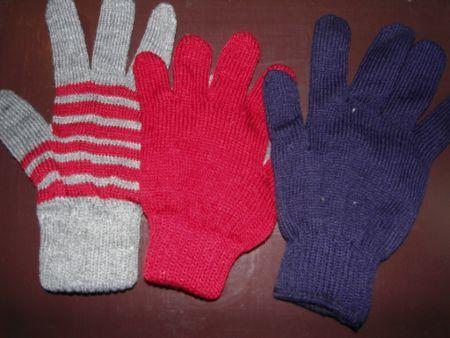 Acrylic Woolen Gloves