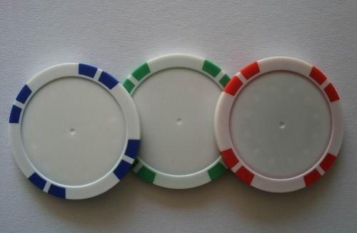 Poker Chip Gol Ball Mark