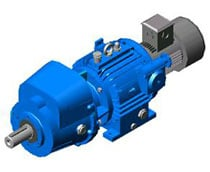 Variable Helical Geared Motor (Low Speed High Torque)
