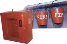 Jet Box And Fire Buckets