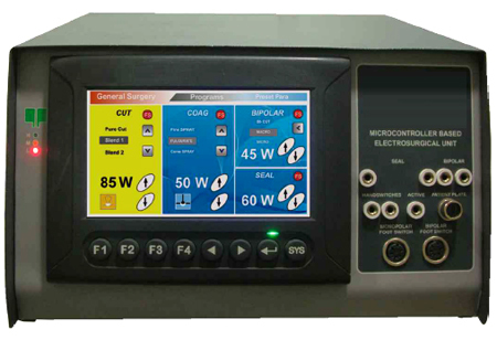LCD Touch Screen Electrosurgical Unit (MM-EU002)
