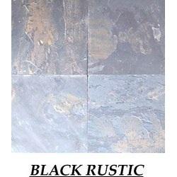 Rustic Black Slate Stone Tile