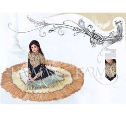 Bridal Anarkali Neck Work Suit