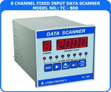 8 Channel Data Logger - Scanner