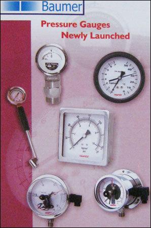 Durable Pressure Gauges