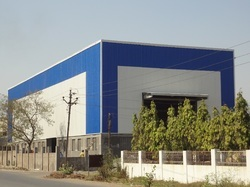 Industrial Roof And Cladding Pre-Engineering Building in  New Area