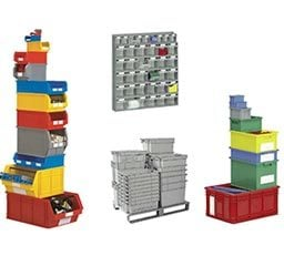 Stackable Steel Containers