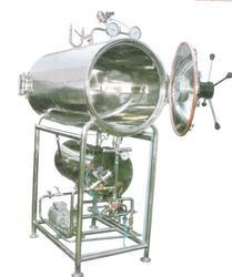 Cylindrical Horizontal Autoclave