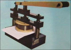 Die And Punch Cutter (Circular)