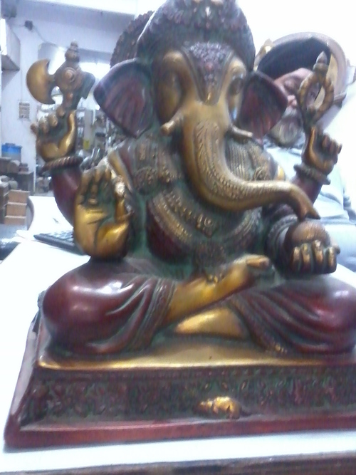 Ganpati Brass Statue