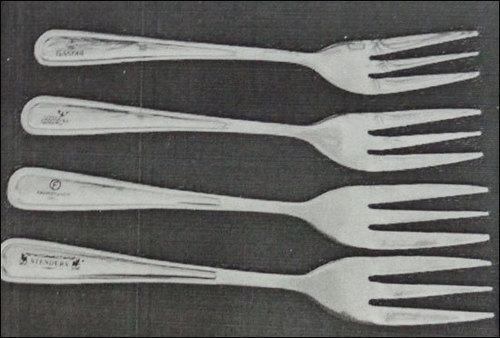 Laser Engraving On Cutlery
