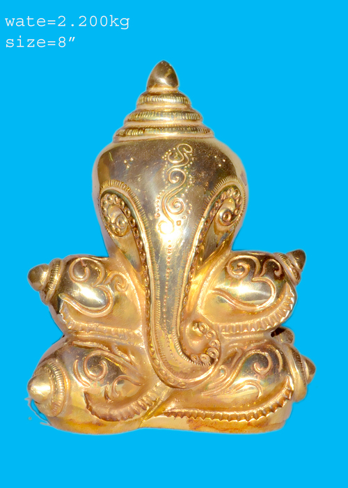 Shree Ganesh Brass Statue