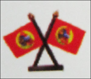 Double Table Flag Small