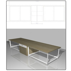 Physics Lab Table - PANORAMA SOLUTIONS PVT  LTD , 324A