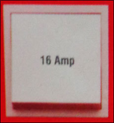 16 Amp Switch (As 06)