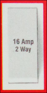 16 Amp Two Way Switch