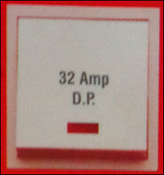 32 Amp D P Switch With Indicator (As 10)
