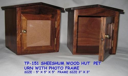 Sheeshum Wood Pet Urns With Photo Frame In New Delhi Delhi