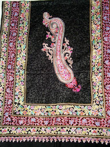 Kashmiri Pashmina Embroidery Shawls