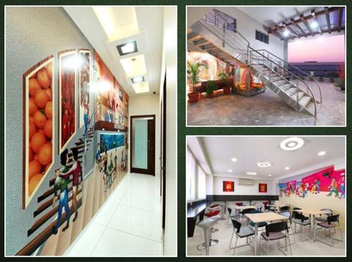 Industrial Interior Designing Services