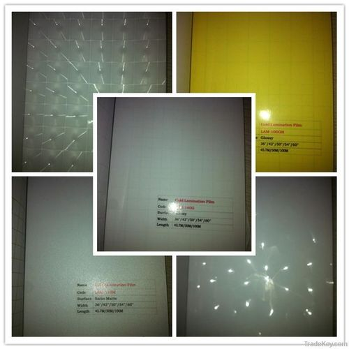 3D PVC Cold Lamination Film