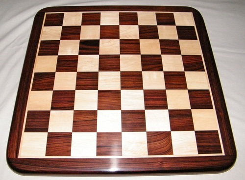Flat Wooden Rosewood Chess Board (KRB001)