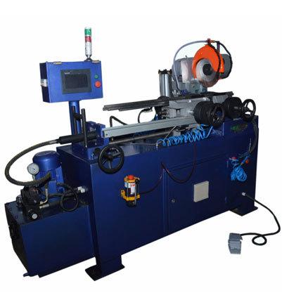 Automatic Hydraulic Pipe Cutting Machine