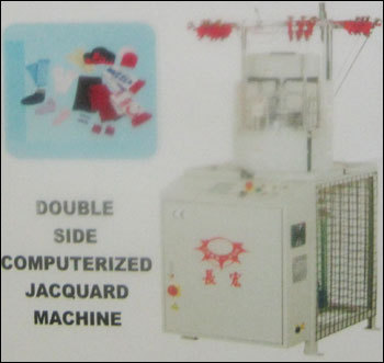 Double Side Computerized Jacquard Machine