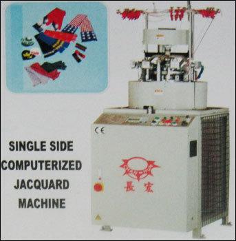 Single Side Computerized Jacquard Machine