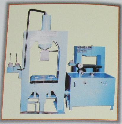 Manual Hydraulic Paver D.Moulding Machine