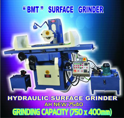 Column Movement Surface Grinder Machine