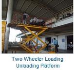 2 Wheeler Loading Unloading Platform