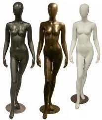 Gloss Female Standing Mannequin