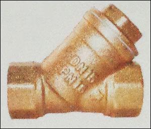 Brass Filter Valve (Y Type Strainer)