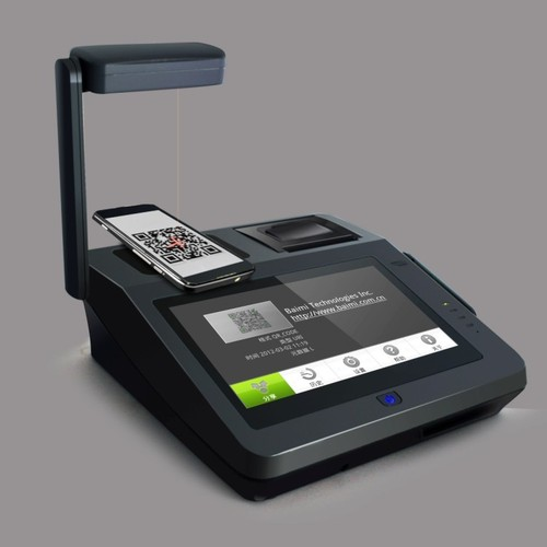 Android Payment Terminal with 3G Wifi and QR Code Scanner in
