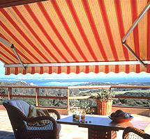 Retractable Awning For Terraces