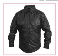 Gents Leather Shirts