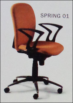 Spring Office Chairs 01 At Best Price In Navi Mumbai Maharashtra Eurotech Design Systems Pvt Ltd