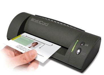 Visiting Card Scanner