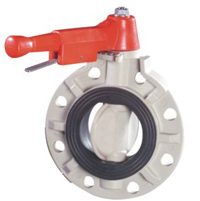 Manual Butterfly Valve Lever Type