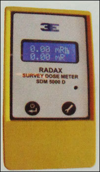 Radiation Survey Meters (Sdm 5000d)
