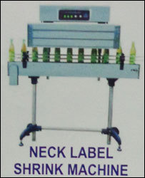 Neck Label Shrink Machine
