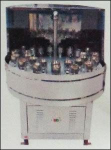 Semi Auto Bottle Washing Machine