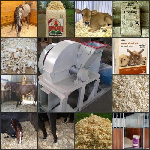 Wood Shaving Machine For Animals Beddings