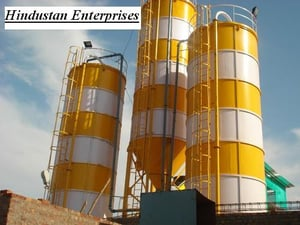 Cement Fly Ash Silo