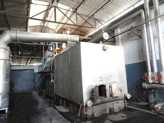 Agro Waste Steam Boiler