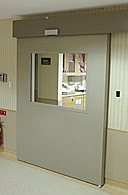 Automatic Fire Prevention Sliding Door